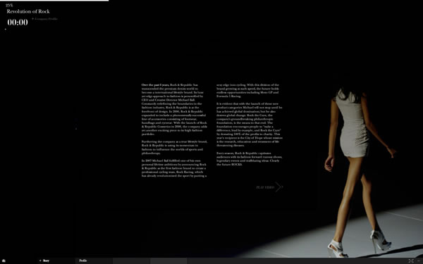 Touchey 10 Trendy And Superb Fashion Websites Design