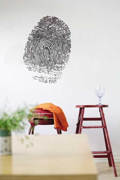 Trendy Design Wall Decals : Touchey trendy wall stickers part